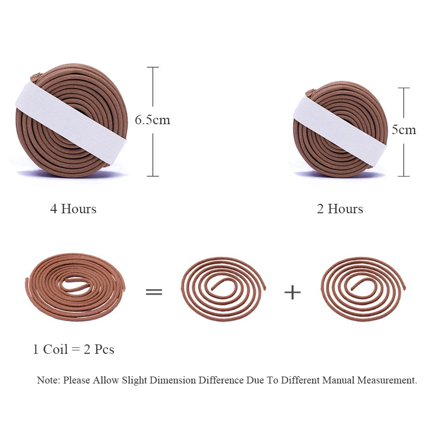 Malaysia Agarwood Incense Coils Malaysian Incense Coil Home Decor Aromatherapy Accessories Style Size Chart