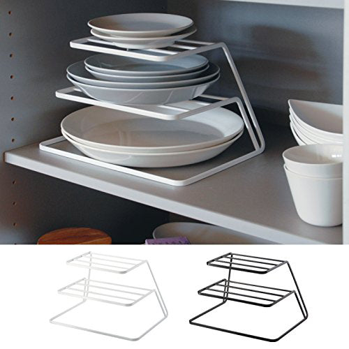 Top Cabinet Layered kitchen Dish Rack Iron Drain Rack 3-layer Plate Rack Dish Storage Shelf Kitchen Storage Furniture Accessories