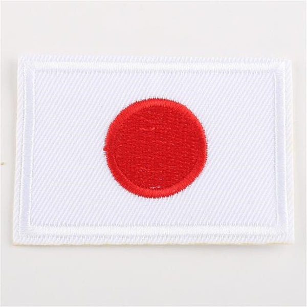 Japan Flag Embroidery Iron On Patch Japanese Patches Badge Stickers For Clothes Fashion Apparel Clothes Accessories Style