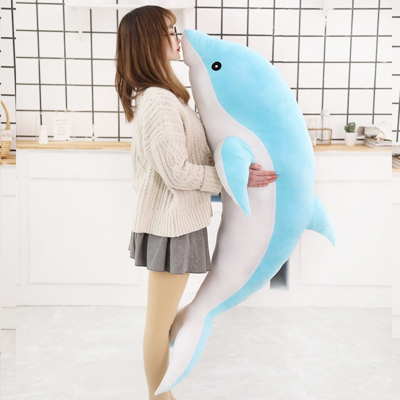 Anime Dolphin Plush Doll