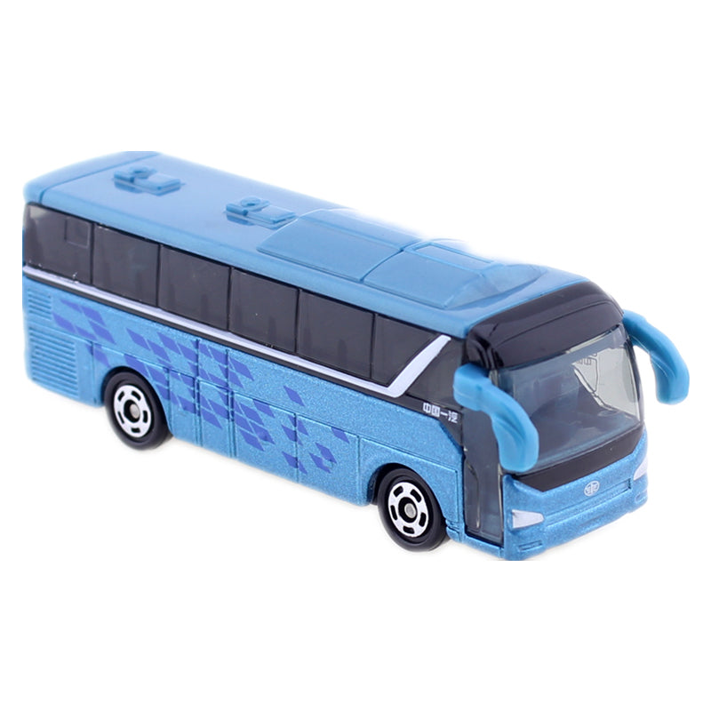 Japanese TOMICA NO. CN-14 FAW JIEFANG KE CHE Bus Blue Special TAKARA TOMY Auto Car Motors vehicle DIECAST Japan Package Toys Play