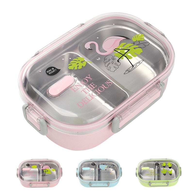 Japanese Stainless Steel Bento Lunch Box With Bag Japan Food Container