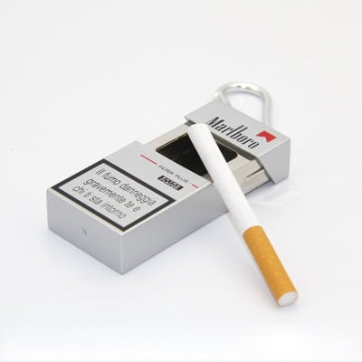 Trend Fashion Portable Ashtray With lid Keychain Pocket Mobile Ashtrays Mini Cigarette Metal Bottle Storage Package