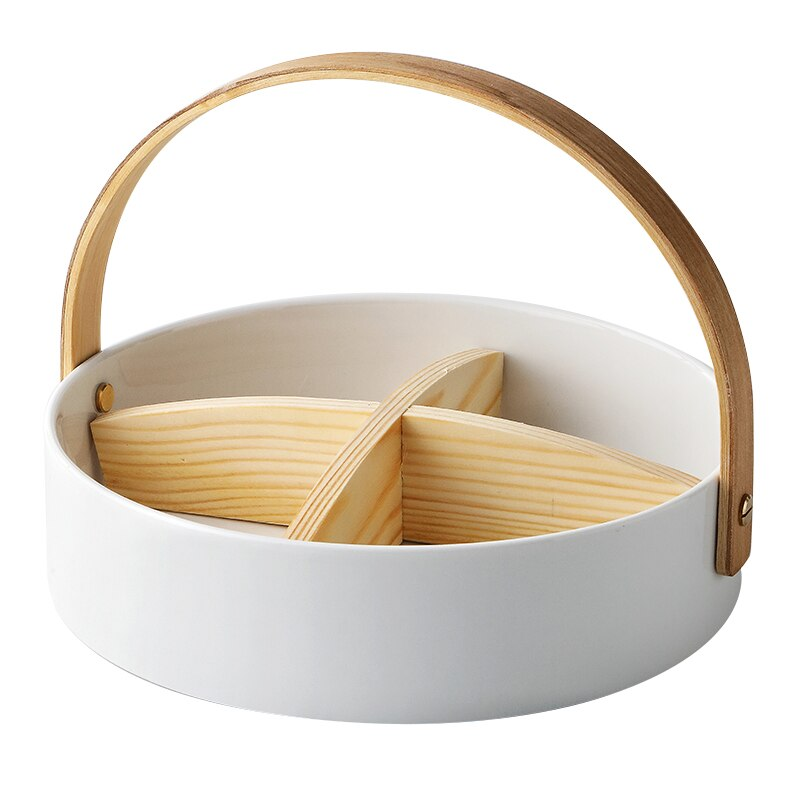 Japanese Ceramic Food Basket