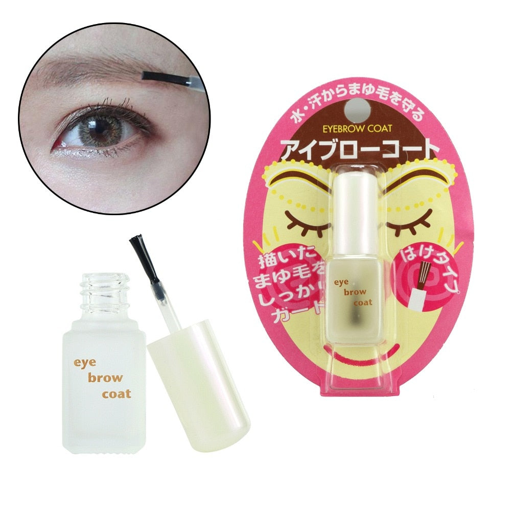 6ml Daiso Japan Everbilena Waterproof Eyebrow Coat for Enhancement Japanese Mascara Makeup Accessories