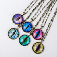 Cat Eye Pendant Necklace - Catari Cats
