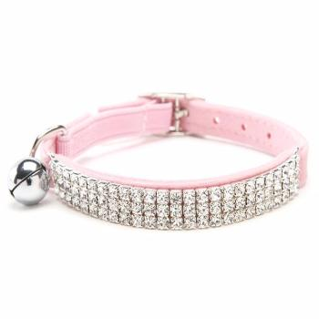 Rhinestone Adjustable Velvet Collar