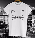 Women's Kitten Casual Tee - Catari Cats