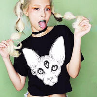 Third Eye Crop Top - Catari Cats