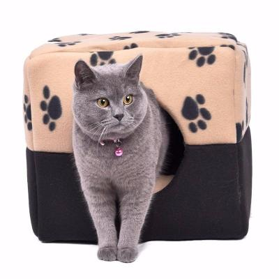 Multiple Use Cozy Enclosed Cat Bed - Catari Cats