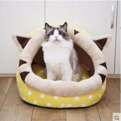 Machine Washable Fleece Cat Bed - Catari Cats
