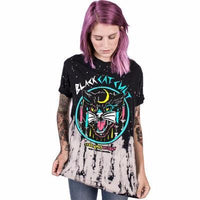 Black Cat Cult T-Shirt - Catari Cats