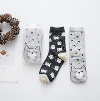 Warm Winter Cat Socks - 2 Pair - Catari Cats