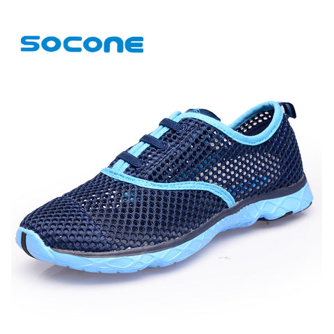 Socone Mesh Women Breathable Running Shoes