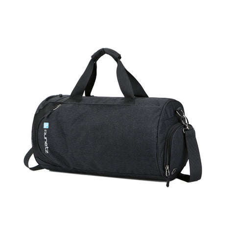 Scione Gym Bags with Shoes Zipper