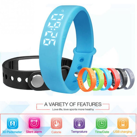 W5 Smart Wristband Fitness Tracker
