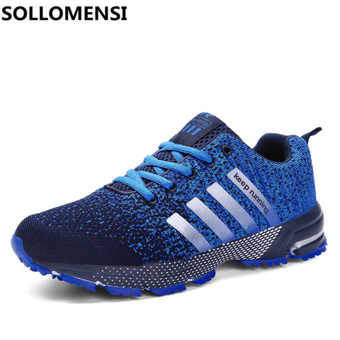 Sollomensi New Lovers Mesh Running Shoes