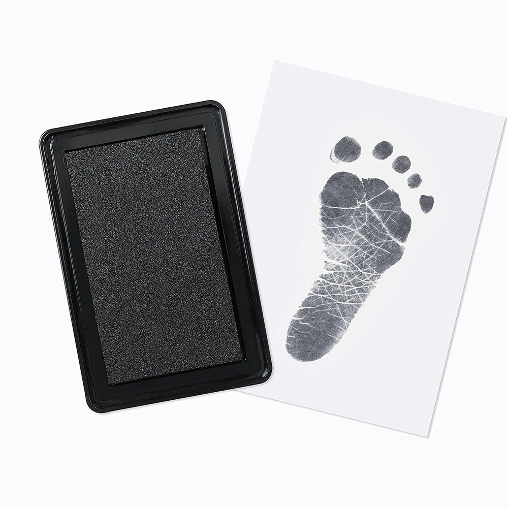 Premium Jumbo Size Baby Hand & Footprint Ink Pad - Up & Raise® - Best Fetal Doppler and Baby Products