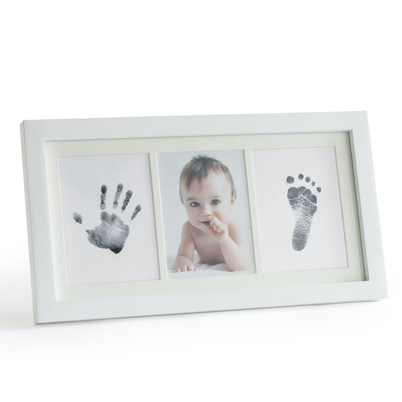 Mess-Free Ink Baby Footprint & Handprint Picture Frame Kit - Up & Raise® - Best Fetal Doppler and Baby Products