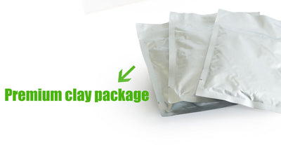 3 Clay packs