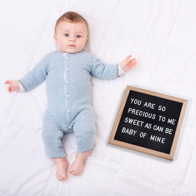 "10""x10"" Felt Letter Board - Up & Raise® - Best Fetal Doppler and Baby Products"