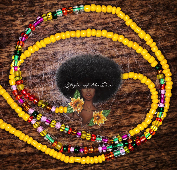 Single Strand Waist Bead (custom, no charm)