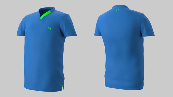 Eye Performance Line shirt (blue_green)