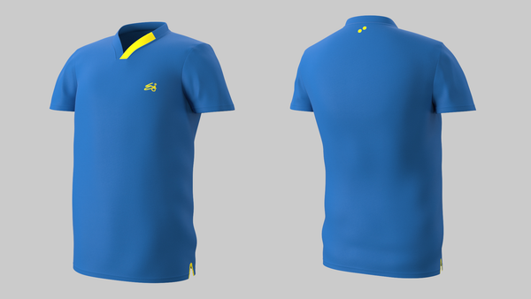Eye Performance Line shirt (blue_yellow)
