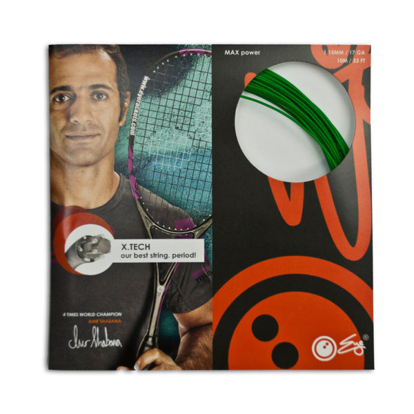 X.Tech Strings Green 1.15mm - 10meter
