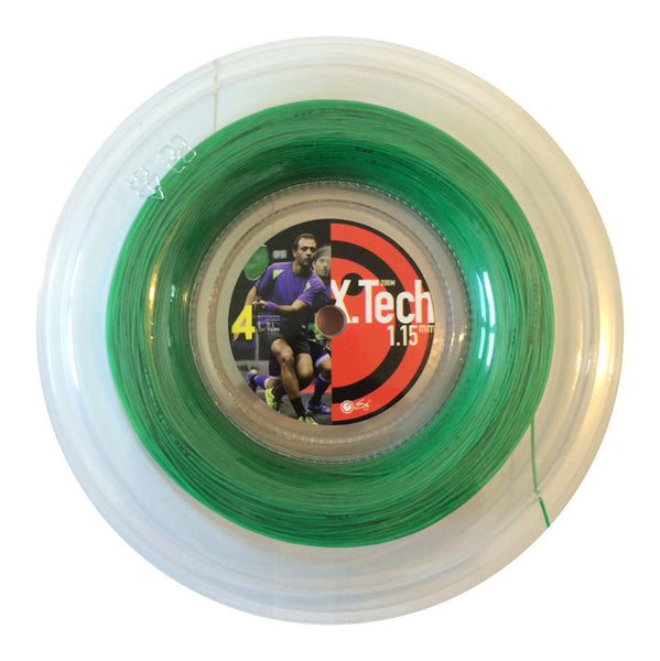 X.Tech Strings Green 1.15mm - 200meter reel