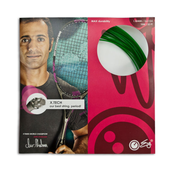 X.Tech Strings Green 1.25mm - 10meter