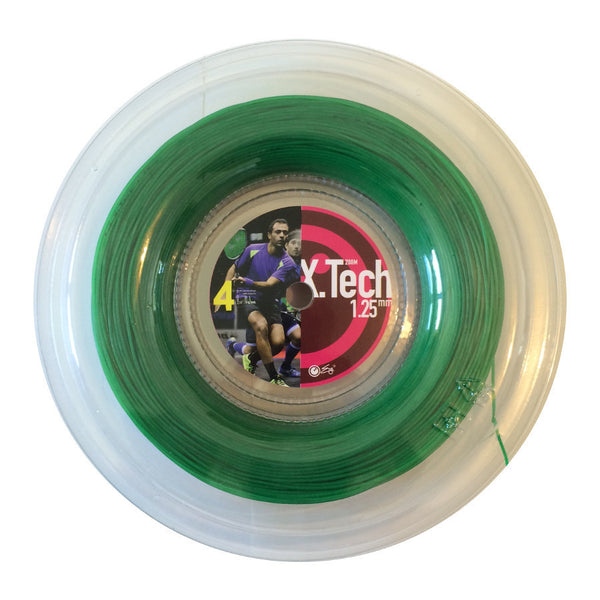 X.Tech Strings Green 1.25mm - 200meter reel