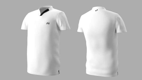 Eye Performance Line shirt ( White-Black)
