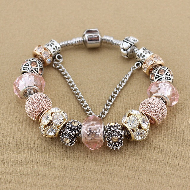 Daliah Bracelet in Rose