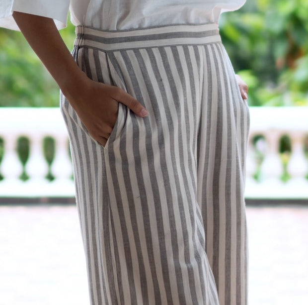 Hazelnut Stripe Pants