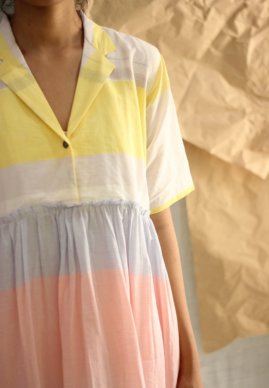 Rainbow Cotton Dress