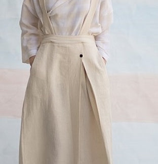 Adjustable Pinafore Culottes