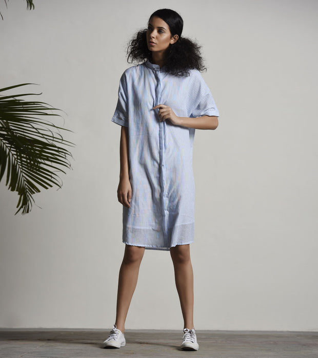 French Shirt Dress