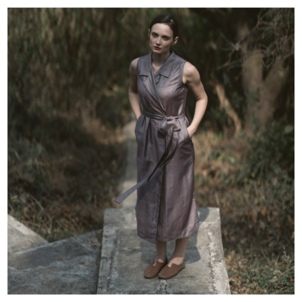Wrap Dress - Graphite