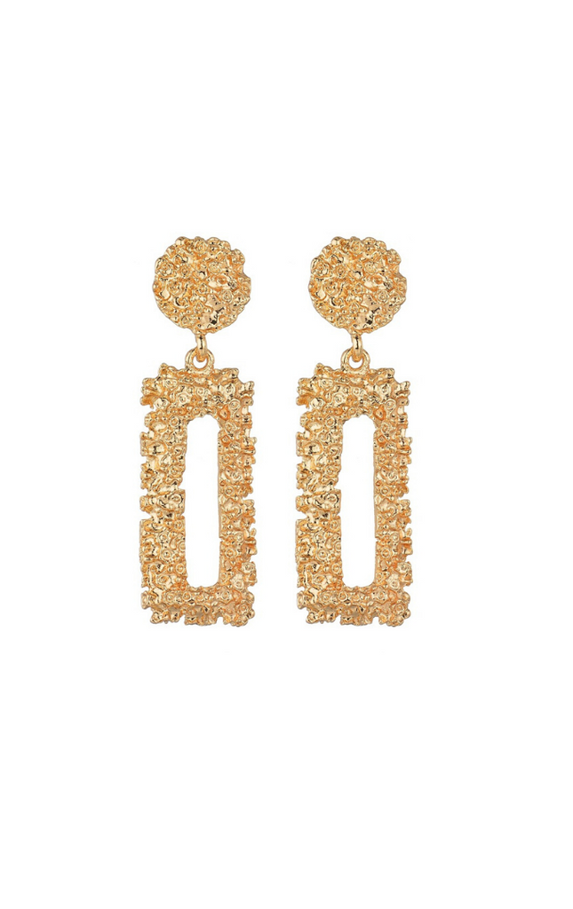 Accra | Gold Earrings