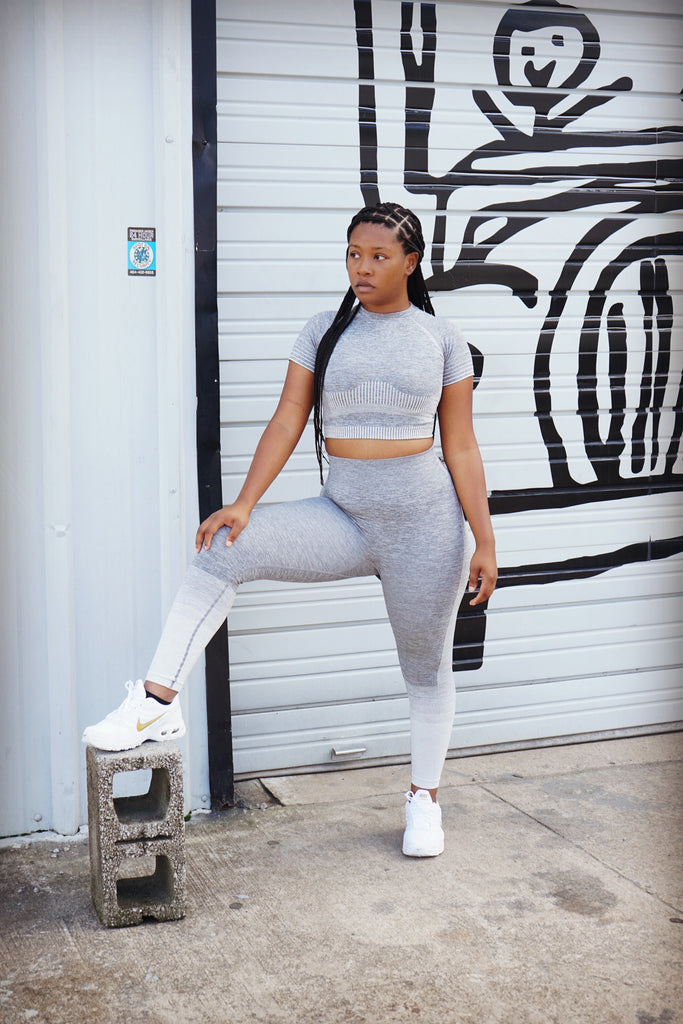 Run It Back | Grey Ombre Set