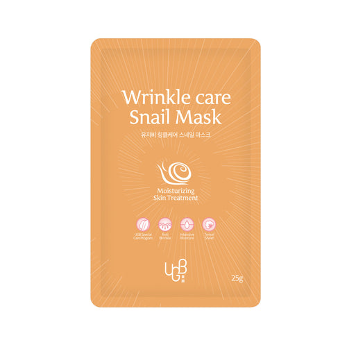 UGB童顏蝸牛抗皺面膜 <br/>UGB Dong An Wrinkle Care Snail Mask