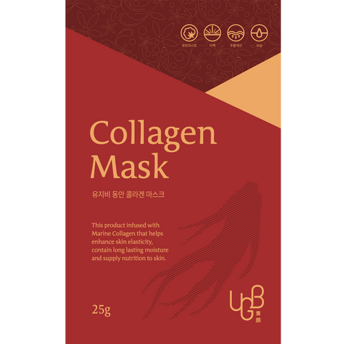 <br/>UGB童顏膠原蛋白面膜 <br/> UGB Dong An Collagen Mask