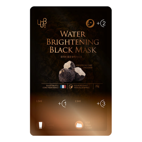 UGB 童顏黑松露水光黑面膜 <br/>UGB Water Brightening Black Mask