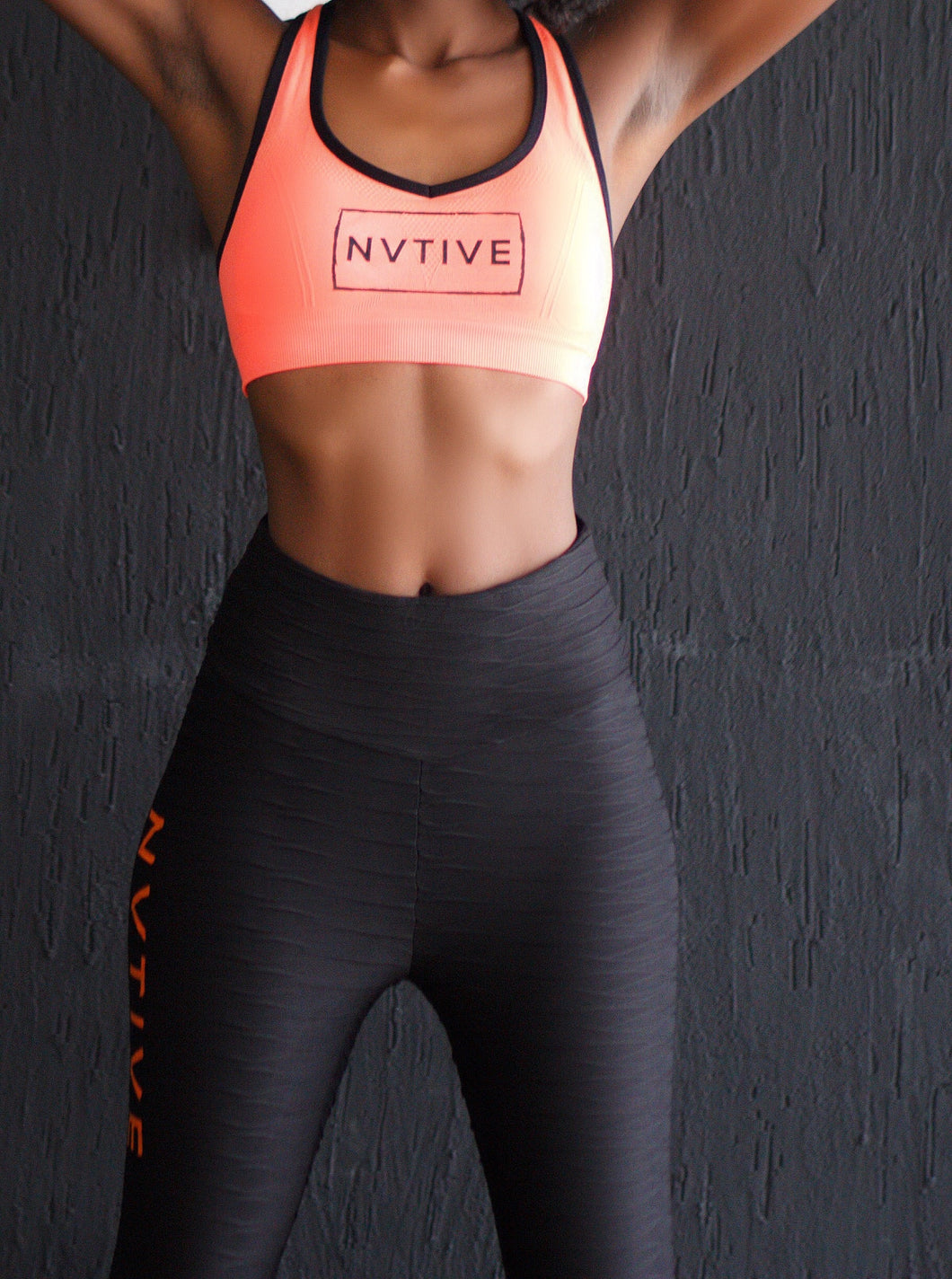 HAZE orange sports bra