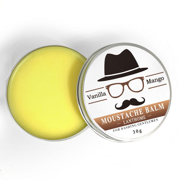 30g Natural Mustache Balm from Beeswax
