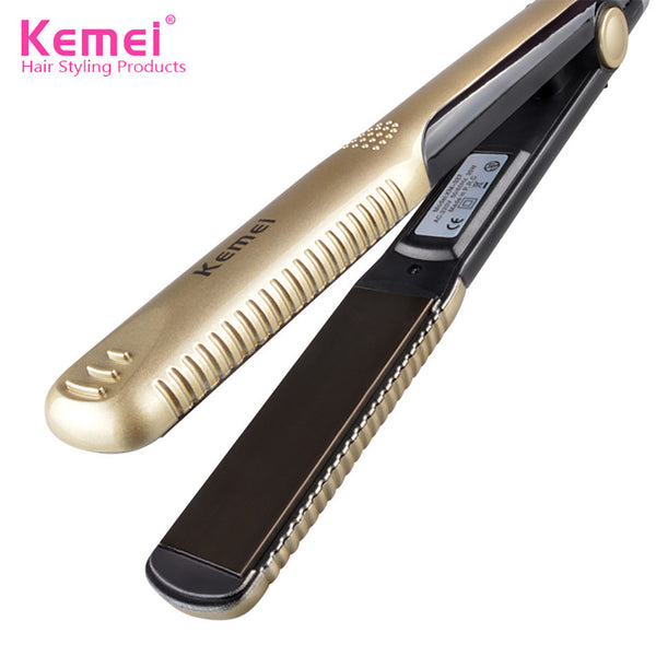 Kemei Hair Straightener Ceramic Iron
