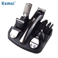 Kemei Multi-functional hair Clipper + 5 different heads for complete grooming