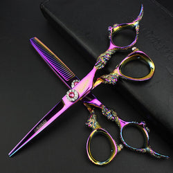 "SHARONDS 6"" High Quality Hairdressing Scissors+Thinner Kit"