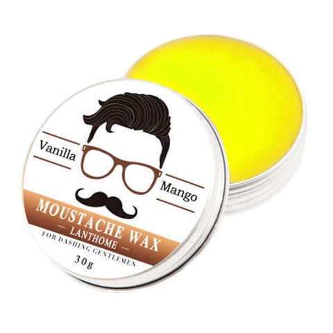 30g Natural Mustache Wax from Beeswax